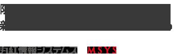 限りないアイデアで、新しいビジネスの価値を創造する - 丸紅情報システムズ -MSYS-